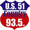U.S. 51 Country 93.5 FM - WKBL 1250