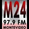 M24 97.9 Montevideo radio online
