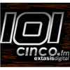 101 Cinco Éxtasis Digital 101.5 radio online