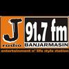 J Radio 91.7 FM Banjarmasin radio online