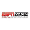 92.9FM ESPN radio online