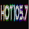 HOT105.7 radio online