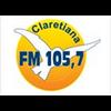 Rádio Claretiana FM 105.7 radio online