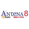 Antena 8 FM 100.1 radio online