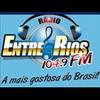 Rádio Entre Rios FM 104.9 radio online
